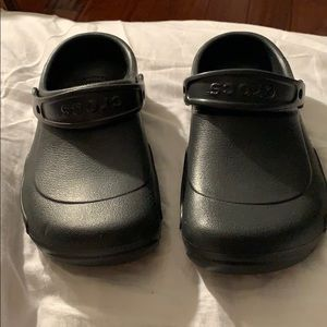 Nonslip Crocs Work Shoes